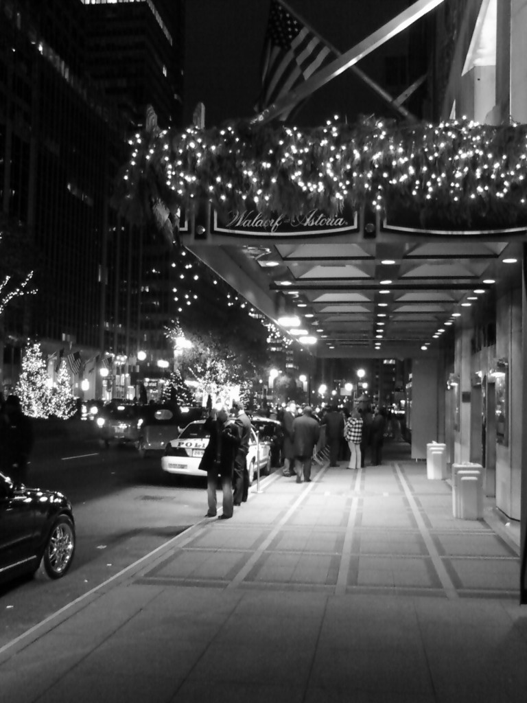 Christmas at the Waldorf-Astoria by RiShawn Biddle