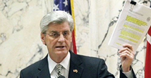 Mississippi Gov. Phil Bryant