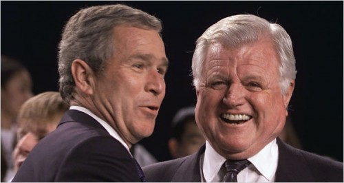 Unlike AEI, George W. Bush and Ted Kennedy largely got it right with No Child.