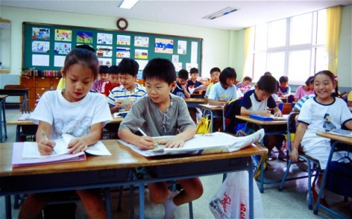 Two top-performing countries, South Korea and Finland, spend far less than America on their public education systems.